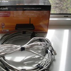 Продается модем-маршрутизатор D-link DSL-2640U