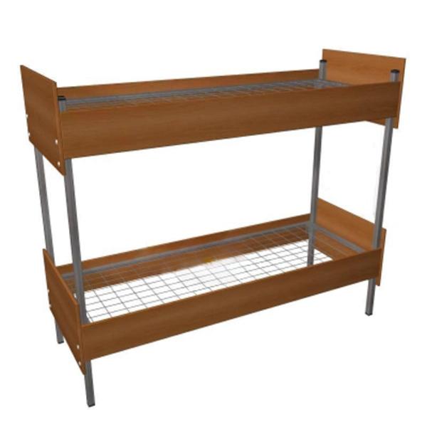 Прочные кровати металлические для строителей в бытовки 2