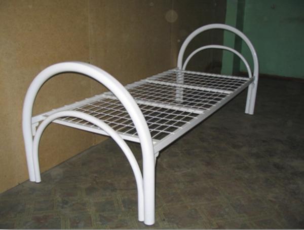 Прочные кровати металлические для строителей в бытовки 4