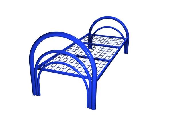 Прочные кровати металлические для строителей в бытовки 3