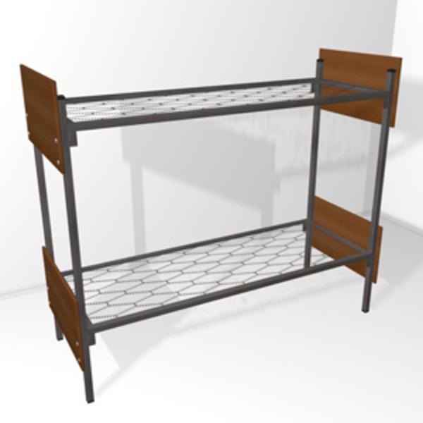 Дешевые кровати металлические для детских садов 3