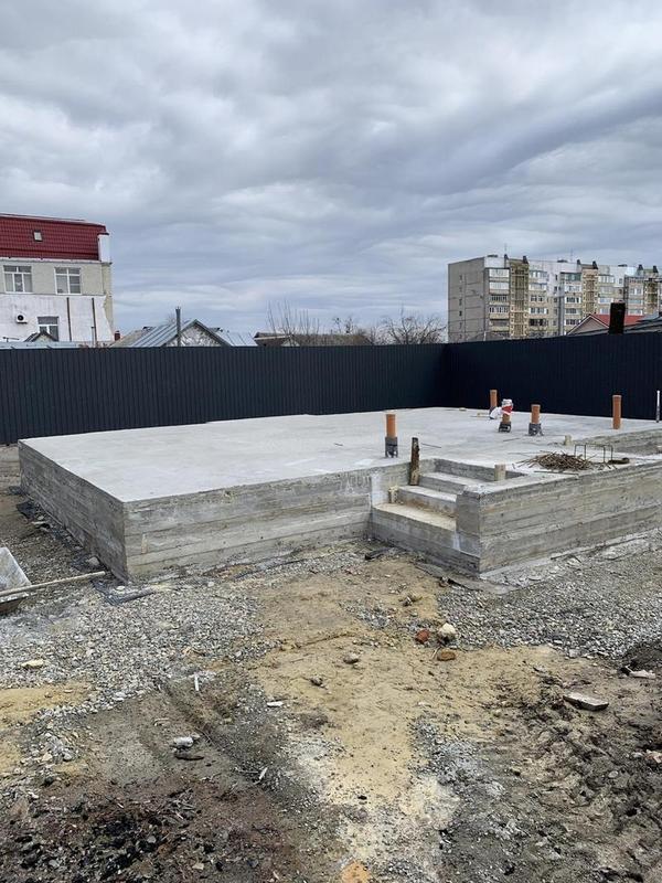 Фундаменты,  бетонные работы 4