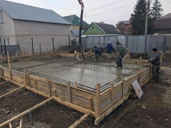 Фундаменты,  бетонные работы 5