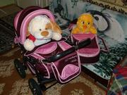 Продаётся детская коляска Adamex Зима-лето